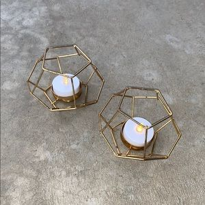 Urban Outfitters Matching Candle Holders